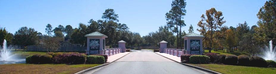 SugarMill Plantation Nighborhood Entrance